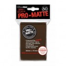 UP - Standard Sleeves - Pro-Matte - Non Glare - Brown (50 Sleeves) 84189