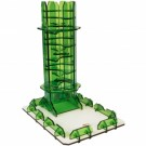 Blackfire Dice Tower - Emerald Twister 40156
