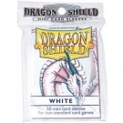 Dragon Shield Small Sleeves - White (50 Sleeves) 10105