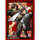 "Bushiroad Standard Sleeves Collection - HG Vol.1350 - Attack on Titan Eren Yeager"" (60 Sleeves)"""