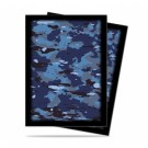 UP - Standard Sleeves - Camouflage Line - Navy Camo - (50 Sleeves) 84363