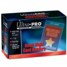 "UP - Semi-Rigid Card Holders with 1/2 Lip (200 Card Holders)"" 81150"