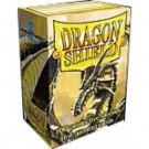 Dragon Shield Standard Sleeves - Gold (100 Sleeves) 10006