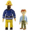 Fireman Sam – 2 figure Pack - Norman & Sam in Mask  Toy - Rotaļlieta