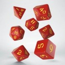 Galda spēle Classic Runic Red & yellow Dice Set (7) QWSSCLR23