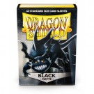 Dragon Shield Standard Sleeves - Matte Black (60 Sleeves)