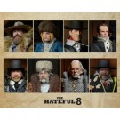 Quentin Tarantino's The Hateful Eight - 20cm Clothed Deluxe Action Figure Assortment (8) limited (3000 worldwide) one-run-production NECA14933_case