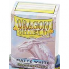 Dragon Shield Standard Sleeves - Matte White (100 Sleeves) 11005
