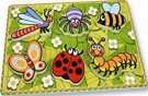 Andreu Toys 30 x 22.5 x 2 cm Insects First Puzzle (Multi-Colour) /Toys