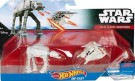 Hot Wheels - Star Wars Starship 2 pack AT-AT Snowspeeder /Toys