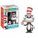 Funko POP! Books Dr. Seuss - Cat In The Hat Flocked With fish bowl Vinyl Figure 10cm limited FK12453
