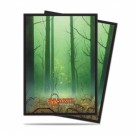 UP - Sleeves Standard - Magic: The Gathering - Mana 5 Forest (80 Sleeves) 86458