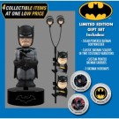 DC Comics Classic - Batman Solar Powered Body Knocker 15cm Limited Edition Gift Set incl. Earbugs Scalers & Hubsnaps NECA61469