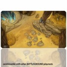 Blackfire Playmat - Battleground Edition Plains - Ultrafine 2mm BF08889