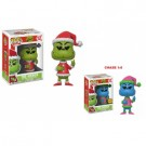 Funko POP! Books Dr. Seuss The Grinch - Grinch in Santa Outfit Vinyl Figure 10cm Assortment (5+1 chase figure) FK21745-case