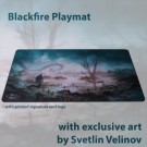 Galda spēle Blackfire Playmat - Svetlin Velinov Edition Swamp - Ultrafine 2mm BFPM403488