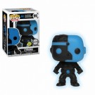 Funko POP! Justice League: Cyborg Silhouette Glow in the Dark Vinyl Figure 10cm FK24744