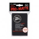 UP - Standard Sleeves - Pro-Matte - Non Glare - Black (50 Sleeves) 82728