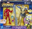 AVENGERS 6IN IRON MAN VS THANOS BATTLE SET E0559