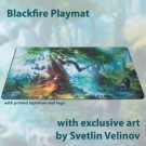 Galda spēle Blackfire Playmat - Svetlin Velinov Edition Forest - Ultrafine 2mm BFPM403495