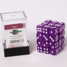 Blackfire Dice Cube - 12mm D6 36 Dice Set - Transparent Violet 91701