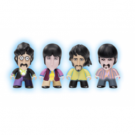 Titan Merchandise - The Beatles TITANS Four Pack: Glow-in-the-Dark Fab Four Vinyl Figures 8cm BYS-B4PG-001