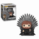Funko POP! Deluxe GOT S10 - Tyrion Sitting on Iron Throne Vinyl Figure 10cm FK37404