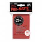UP - Small Sleeves - Pro-Matte - Red (60 Sleeves) 84263