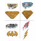 Underground Toys Merch - DC Comic Cookie Cutter Icons Set UT-DC05237