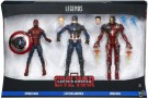 CAPTAIN AMERICA CW 6INCH LEGENDS SERIES 3 PACK B8215