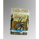 Dragon Shield Standard Sleeves - Gold (50 Sleeves) 10206