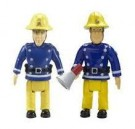 Fireman Sam – 2 figure Pack - Sam with Megaphone & Elvis  Toy - Rotaļlieta