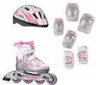 FILA - Rollerblades - X-ONE - Combo Set Pink (35-38)