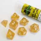 Blackfire Dice - 16mm Role Playing Dice Set - Magic Yellow (7 Dice) 40040