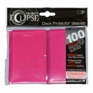 UP - Standard Sleeves - PRO-Matte Eclipse - Hot Pink (100 Sleeves) 85609