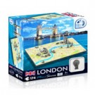 4D Cityscape - London Mini Puzzle 70002