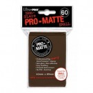 UP - Small Sleeves - Pro-Matte - Brown (60 Sleeves) 84271