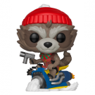 Funko POP! Marvel Holiday - Rocket Vinyl Figure 10cm FK43334