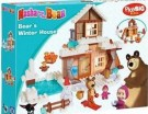 Masha and The Bear - Bear Winter House /Toys