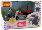 Postman Pat - SDS Motorbike And Sidecar - Toy 5029736028022