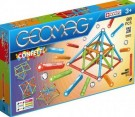 Geomag - Confetti - 127 pcs (Red, Green, Orange & Blue) /Toys
