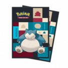 UP - Sleeves Standard - Pokemon - Snorlax (65 Sleeves) 85525