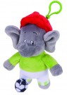 (D) Jazwares - Benjamin the Elephant (As a Football Player) (Damaged Packaging) /Toys