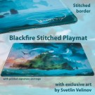 Galda spēle Blackfire Stitched Playmat - Svetlin Velinov Edition Island - Ultrafine 2mm BFPM403464