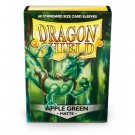 Dragon Shield Standard Sleeves - Matte Apple Green (60 Sleeves) 11218