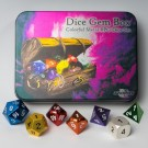 Blackfire Dice - Metal Dice Set - Dice Gem Box (7 Dice) 91743 - ir veikalā