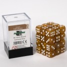 Blackfire Dice Cube - 12mm D6 36 Dice Set - Marbled Light Brown 91726