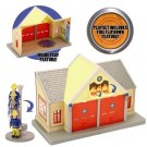 Fireman Sam - Adventure Playset with Figure - Fire Station - Toy