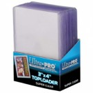 "UP - Toploader - 3 x 4"" Super Clear Premium (25 pieces)"" 81145"