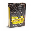 Dragon Shield Small Sleeves - Japanese Matte Black (60 Sleeves) 11102